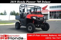 2019 Honda Pioneer700 Deluxe