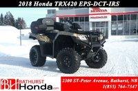 Honda TRX420 DCT - IRS - EPS 2018
