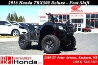 2016 Honda TRX500 Deluxe