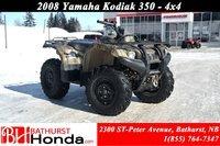 2008 Yamaha Kodiak 350