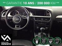 Audi A4 S LINE PROGRESSIV PLUS AWD GPS **GARANTIE 10 ANS** 2015