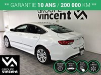 Chrysler 200 LIMITED **GARANTIE 10 ANS** 2015