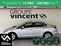 Honda Civic LX  ** GARANTIE 10 ANS ** 2014