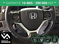 Honda Civic EX-L  CUIR **GARANTIE 10 ANS** 2012