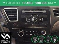 Honda Civic LX **GARANTIE 10 ANS** 2013