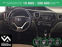 Honda Civic EX**GARANTIE 10 ANS** 2013