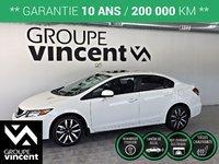 Honda Civic TOURING CUIR-TOIT-GPS **GARANTIE 10 ANS** 2015