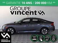 Honda Civic LX  **GARANTIE 10 ANS** 2018