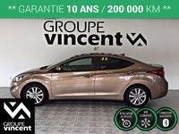 Hyundai Elantra GLS**GARANTIE 10 ANS** 2015