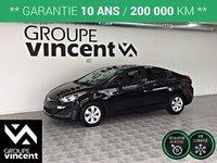 Hyundai Elantra GL**GARANTIE 10 ANS** 2016