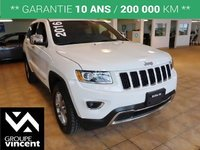 Jeep Grand Cherokee LIMITED AWD **GARANTIE 10 ANS** 2016