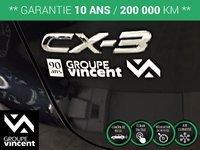 Mazda CX-3 GX**GARANTIE 10 ANS** 2016
