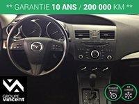 Mazda 3 GX AIR CLIMATISÉ**GARANTIE 10ANS** 2012