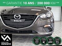 Mazda Mazda3 SPORT GX A/C ** GARANTIE 10 ANS ** 2016