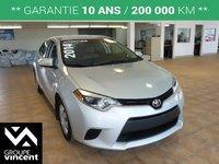 Toyota Corolla LE**GARANTIE 10 ANS** 2014