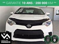 Toyota Corolla CE **GARANTIE 10 ANS** 2014
