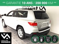 Toyota Highlander **TRACTION INTEGRALE** 2012