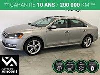 Volkswagen Passat TDI HIGHLINE GPS CUIR TOIT ** GARANTIE 10 ANS ** 2014