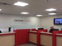 Orleans Honda Service Dept.