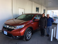 Repeat customers!  (2018 CRV Honda)