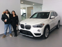 I'm so excited...... (2018 BMW X1)
