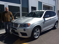 European Delivery in Canada (2014 BMW X3)