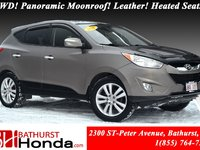 2011 Hyundai Tucson Limited - AWD AWD! Panoramic Moonroof! Leather! Heated Seats! XM Radio!