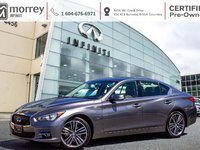 2015 Infiniti Q50 LIMITED NAVIGATION LEATHER CERTIFIED! ASK ABOUT OUR LOW RATES!