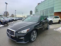 2018 Infiniti Q50 Signature Edition - Manager's Personal Vehicle Local, one owner & accident free !