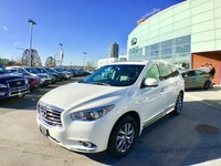 2014 Infiniti QX60 Premium Navigation Ultra Low KMs ! Low KMs - One Owner, Local BC Vehicle with no accident claims !!