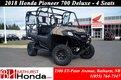 2018 Honda Pioneer 700 Deluxe - 4 Seats