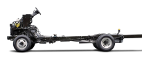 2017 Ford Stripped Chassis