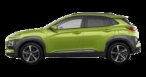 2019 Hyundai Kona ULTIMATE Black with Lime Trim
