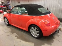 2003 VOKSWAGEN New Beetle Convertible
