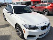 BMW 2 Series M235i **ULTRA PERFORMANT- LA MOINS CHER AU QUEBEC*  2014