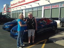 Very good service with Jessica Pitre. Very friendly staff! Congratulations Honda!