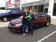 Rachel followed up really quick after sending an e-mail via Bathurst Honda's website! Linda Lepage-Leclair