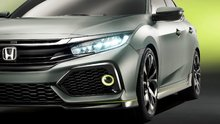 Honda Unveils News 2017 Honda Civic Hatchback