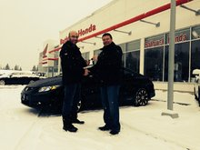 Bathurst Honda's sales team was very welcoming from the start! Richard Pitre