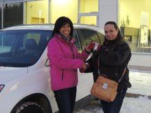 The Sales Representative was extremely knowledgeable and helpful! Sylvie Arsenault