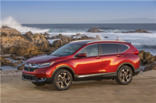 Three elements that set the new 2018 Honda CR-V apart