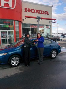 Great experience for the purchase of a first new vehicle! Julie Roy