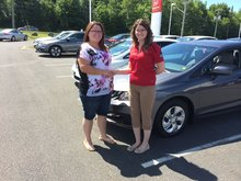 It is the second vehicle I buy here! Josée Evers