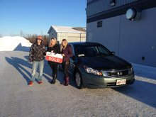 Good service from Jessica Pitre and Honda team!