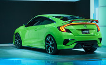2016 Honda Civic - Showing its teeth and growling