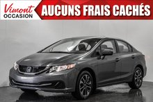Honda Civic Sedan 2014+EX+TOIT+MAGS+CAMERA RECUL+SIEGES CHAUFFANTS 2014