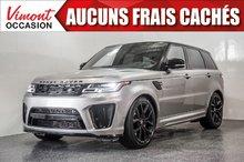 Land Rover Range Rover Sport 2019+V8+SUPERGARGED+SVR+CUIR+TOIT+NAV+++ 2019