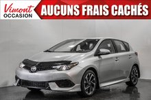 2016 Scion IM 2016+HB+CAMERA RECUL+BLUETOOTH+A/C+GR ELEC COMPLET