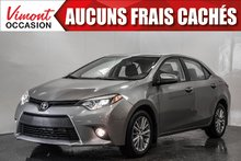 Toyota Corolla 2014+LE+CUIR+NAV+TOIT+CAMERA RECUL 2014