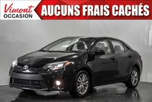 2014 Toyota Corolla 2014+LE+TOIT+CAMERA RECUL+SIEGES CHAUFFANTS+MAGS